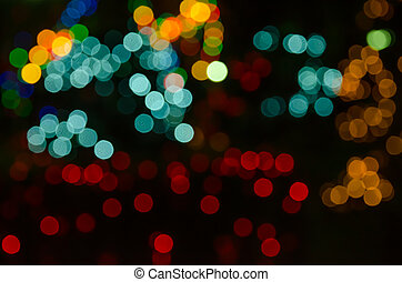 abstract background colorful bokeh circles Beautiful...