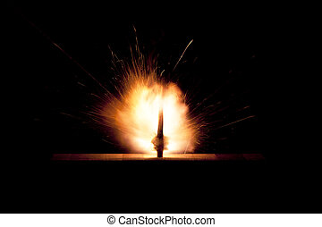 The explosion of business idea
