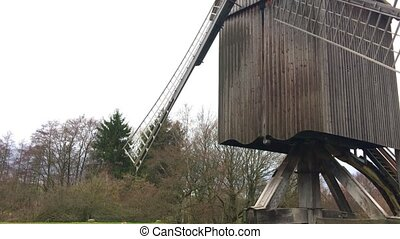 Traditional German Wood Mill House - Old Traditional German...