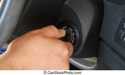 Ignition Key - An ignition key is put into the ignition and...