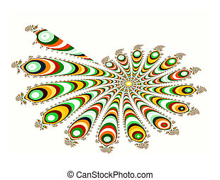 Spiral - An illustration that describes a fractal image of a...
