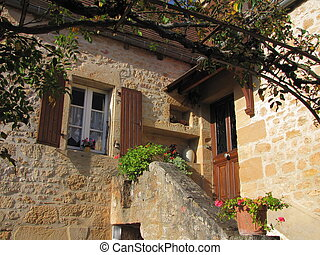 Home, window, door - Valley of Dordogne