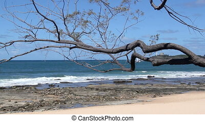 Mooloolaba 11 - The view from Mooloolaba beach looking...