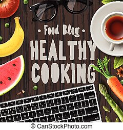 Food blog, healthy cooking, lifestyle