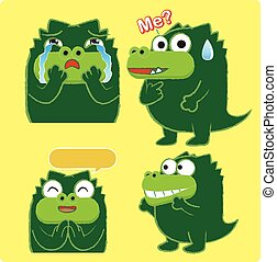 Crocodile Acting 03