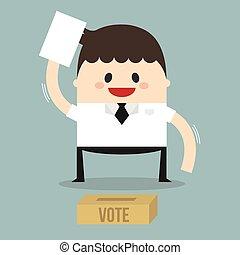 Vote man