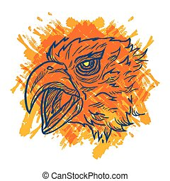 Eagle Art Colorful