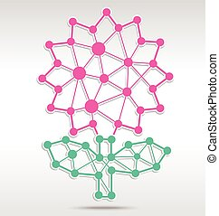 Flower linkage