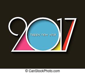 2017 new year creative design card - 2017 new year creative...