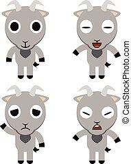 Goat cartoon