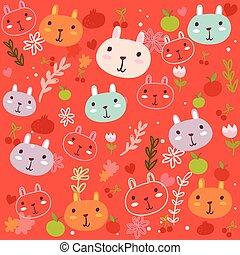 Fancy Bunny pattern