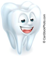 Tooth Mascot - An illustration of a tooth dental mascot...
