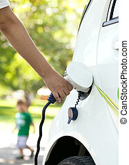 Charging battery of an electric car - Charging battery of an...