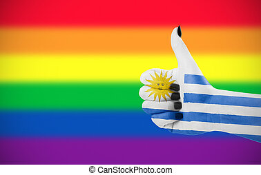 Positive attitude of Uruguay for LGBT community