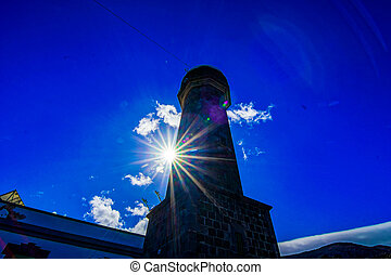 Lighthouse Faro de Orchilla - Lighthouse at the Western...