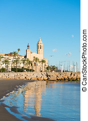 Sitges - Church of St. Bartholomew and Santa Tecla - Details...