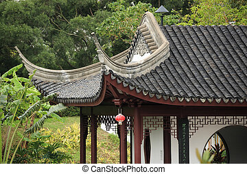chinese building eaves