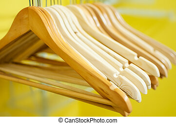 hangers - A collection of empty hangers
