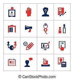 Set color icons of elections