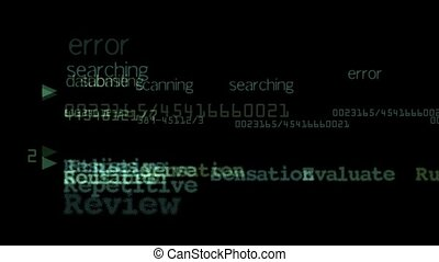 Character,words,computer search