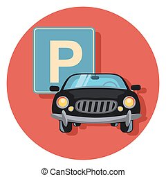 parking and car.eps