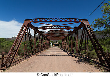 Steel Bridge Construction in Alemania, Argentina -...