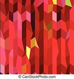 Cardinal Red Abstract Low Polygon Background - Low polygon...