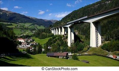 highway Brennerautobahn