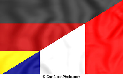 Flag of France and Germany
