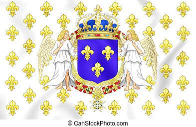 Kingdom of France Royal Standard