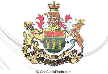 Saskatoon Coat of Arms, Canada Close Up