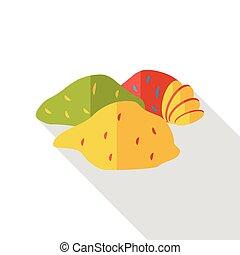 vegetable Sweet potato flat icon