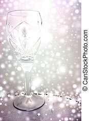 crystal glass, premonition holiday, a holiday soon, play of...
