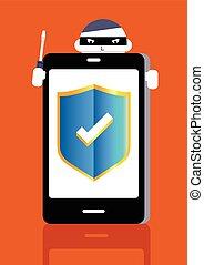 Protection concept: smartphone