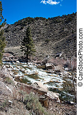 Sierra Nevada - Early spring in the Sierra Nevada California...