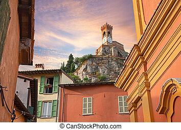 cityscape of Brisighella, Emilia Romagna, Italy