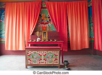 Labrang Gompa , Sikkim, India - Labrang Gompa, Sikkim,...