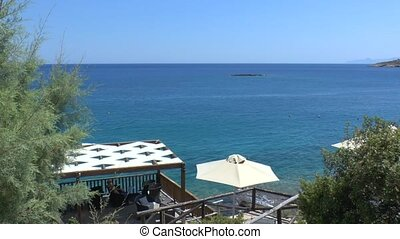 Sea view of Mirabello Bay Crete - Beatiful sea view of...