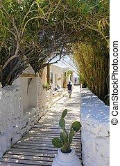psarou, playa,  Mykonos, grecia