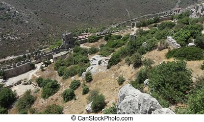 Saint Hilarion Castle North Cyprus - Saint Hilarion Castle...