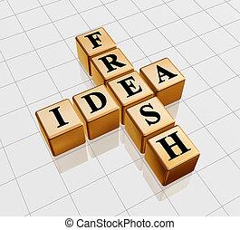 golden fresh idea like crossword