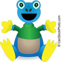 Stuffed Animal Exotic Amazon Frog Toy - Vector - toy frog