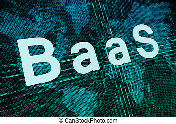 Backup as a Service - BaaS - Backup as a Service text...