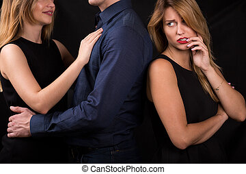 Married and rich man - Young woman desires married and rich...