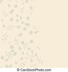 Cornflower pattern Vector seamless texture