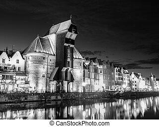 Gdańsk, Noc