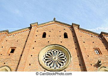 Castiglione Olona the medieval Collegiata church,...