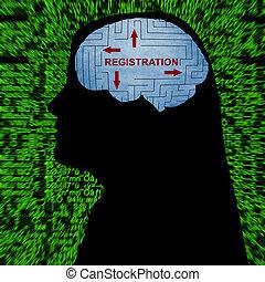 Registration in mind concept