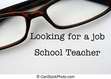 Looking for a job School Teacher