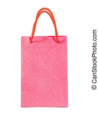 rosa, bolsa